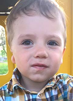 Anton Lushin, 2 years old, right-side conductive hearing loss. Requires surgical treatment at California Ear Institute (Palo Alto, California, USA), course treatment required, <nobr>9,750.00 USD</nobr>