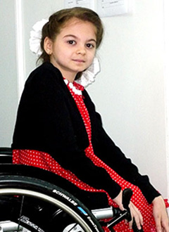 Jennet Bazarova, 15 years old, suffers from brittle bone disease and pathological bony overgrowth, She needs to undergo medical examination and treatment in the Children's Hospital of Philadelphia, USA, <nobr>16,560.00 USD</nobr>